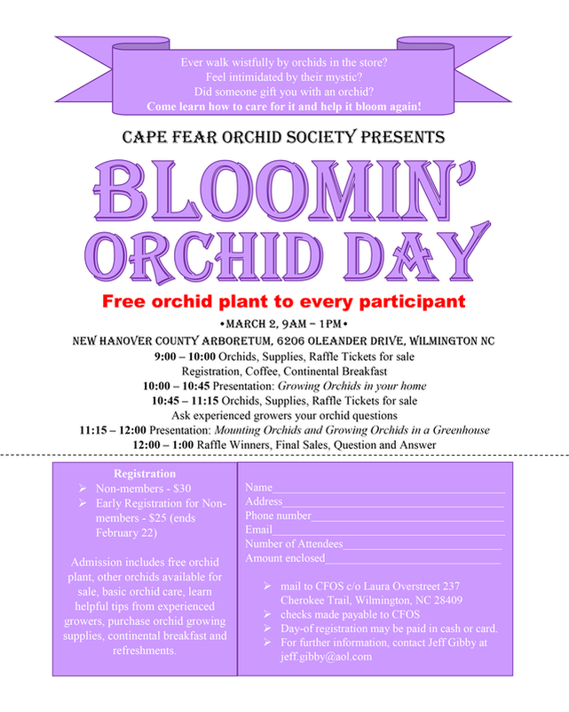 Big Bloomin' Orchid Day 2019